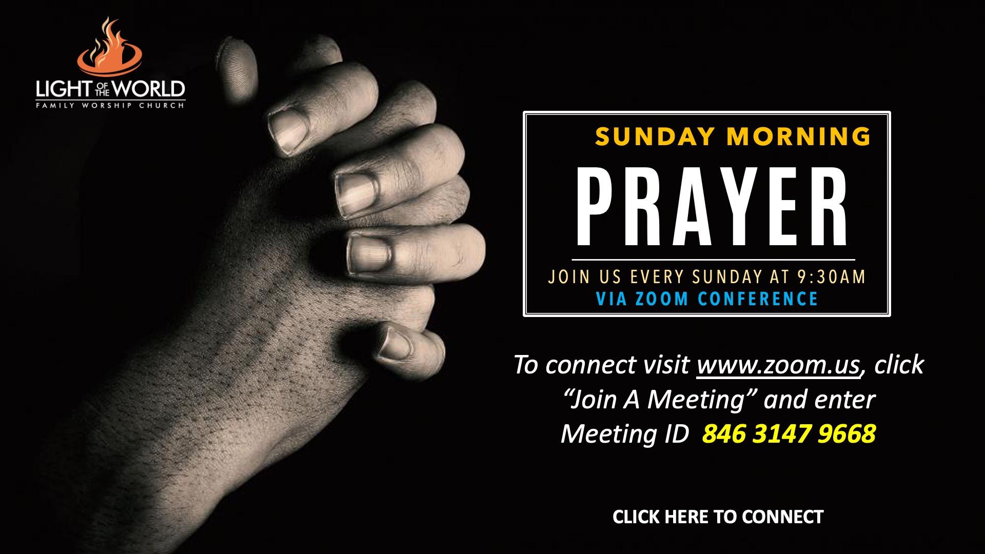 Sunday-Prayer
